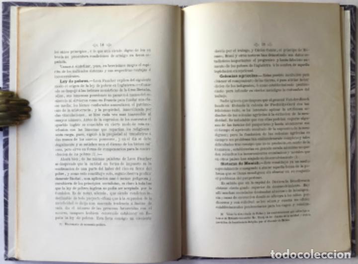 Libros antiguos: EXTINCION DE LA MENDICIDAD. Dictámen presentado á la seccion de ciencias morales del Ateneo... - Foto 2 - 244477960