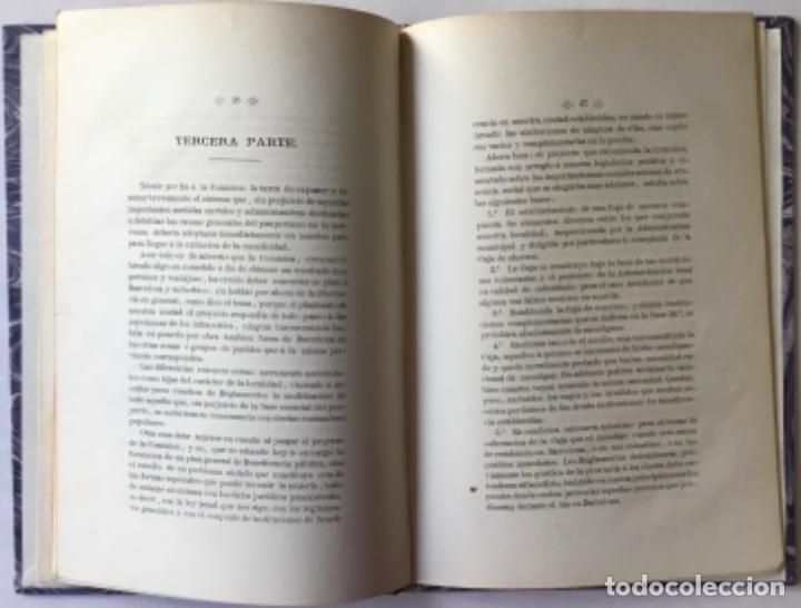 Libros antiguos: EXTINCION DE LA MENDICIDAD. Dictámen presentado á la seccion de ciencias morales del Ateneo... - Foto 3 - 244477960