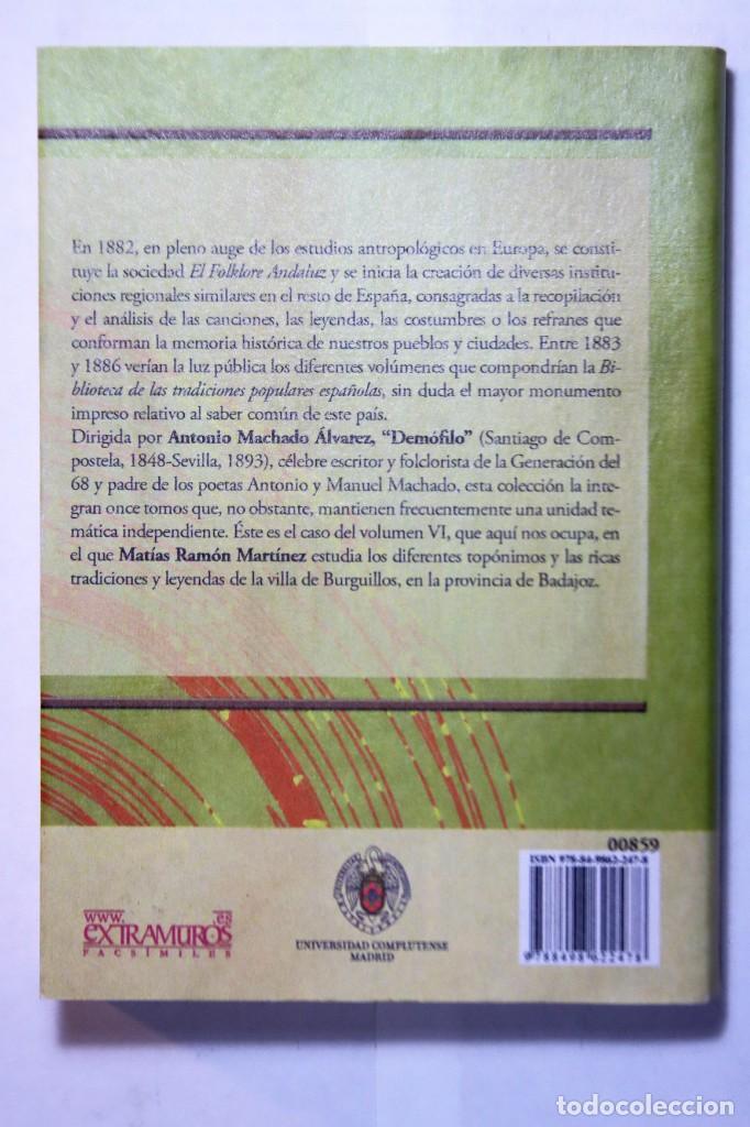 Libros antiguos: 11 LIBROS RELATIVOS AL FOLCLORE ESPAÑOL. TRADICIONES ESPAÑOLAS. ANTONIO MACHADO Y ÁLVAREZ, DEMÓFILO - Foto 13 - 248515670