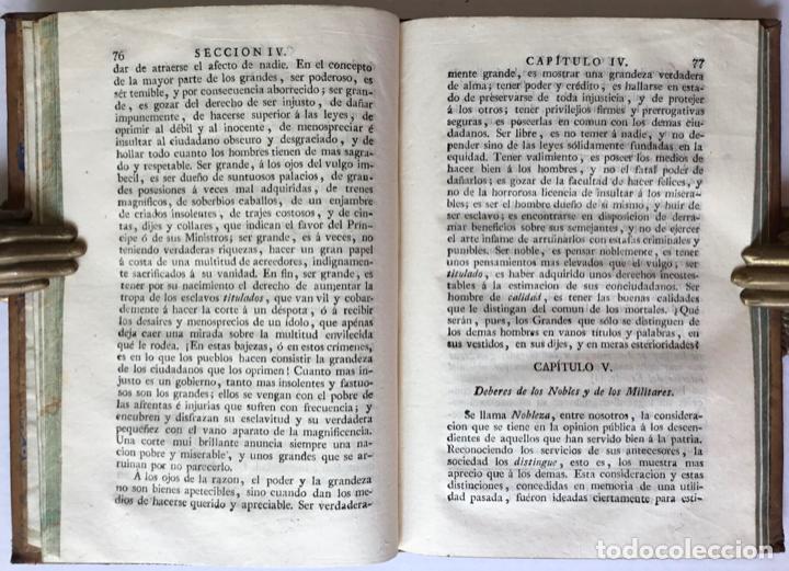 Libros antiguos: MORAL UNIVERSAL Ó DEBERES DEL HOMBRE FUNDADOS EN SU NATURALEZA. - HOLBACH, Paul Henri Dietrich, baró - Foto 3 - 123201064