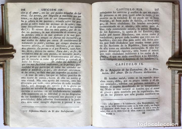 Libros antiguos: MORAL UNIVERSAL Ó DEBERES DEL HOMBRE FUNDADOS EN SU NATURALEZA. - HOLBACH, Paul Henri Dietrich, baró - Foto 5 - 123201064