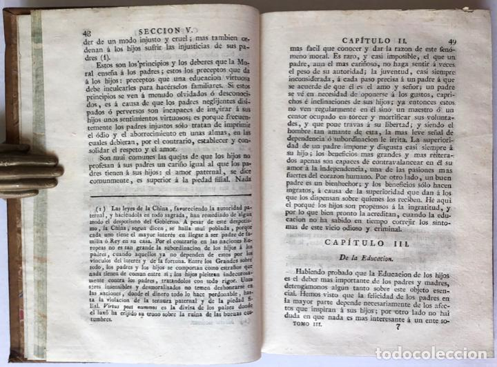 Libros antiguos: MORAL UNIVERSAL Ó DEBERES DEL HOMBRE FUNDADOS EN SU NATURALEZA. - HOLBACH, Paul Henri Dietrich, baró - Foto 7 - 123201064