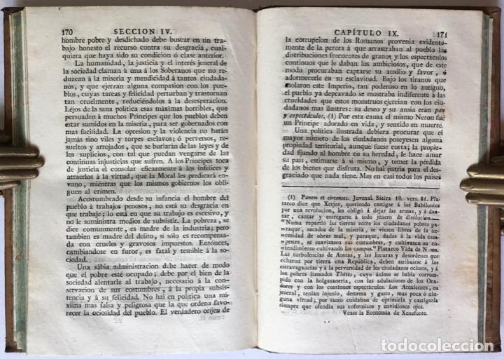 Libros antiguos: MORAL UNIVERSAL Ó DEBERES DEL HOMBRE FUNDADOS EN SU NATURALEZA. - HOLBACH, Paul Henri Dietrich, baró - Foto 8 - 123201064