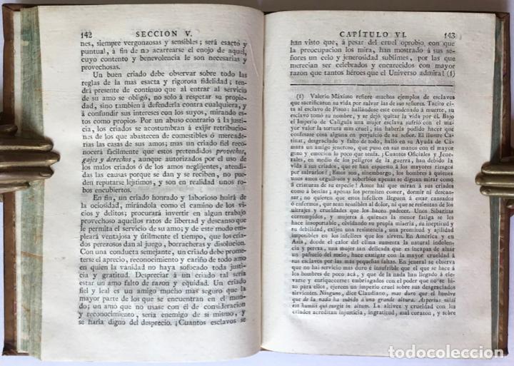 Libros antiguos: MORAL UNIVERSAL Ó DEBERES DEL HOMBRE FUNDADOS EN SU NATURALEZA. - HOLBACH, Paul Henri Dietrich, baró - Foto 10 - 123201064