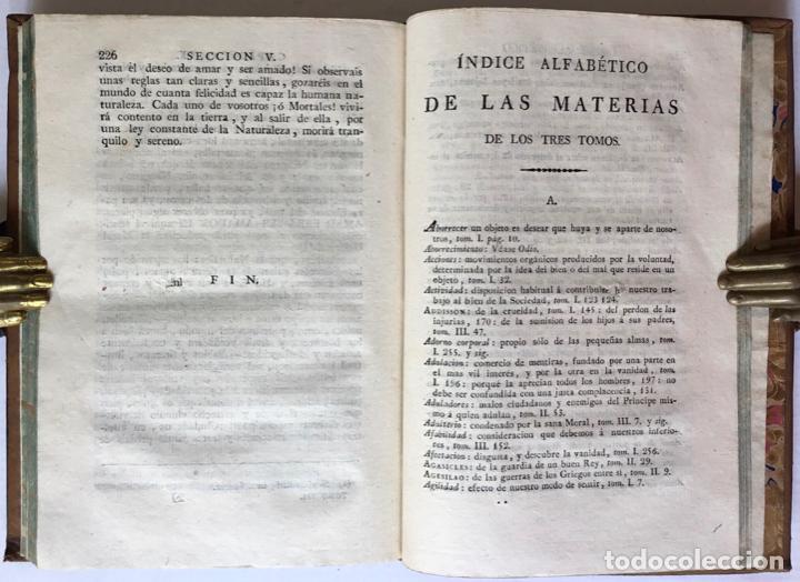 Libros antiguos: MORAL UNIVERSAL Ó DEBERES DEL HOMBRE FUNDADOS EN SU NATURALEZA. - HOLBACH, Paul Henri Dietrich, baró - Foto 11 - 123201064
