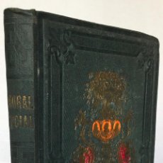 Libros antiguos: LA MORAL SOCIAL, Ó DEBERES DEL ESTADO Y DE LOS CIUDADANOS EN TODO CUANTO TIENE RELACIÓN CON LA .... Lote 123192588