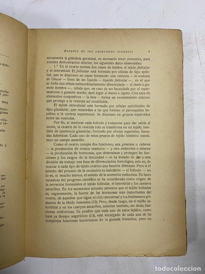 Libros antiguos: LOS ESTADOS INTERSEXUALES EN LA ESPECIE HUMANA. G. MARAÑON. JAVIER MORATA EDITOR. MADRID,1929. - Foto 4 - 288598953