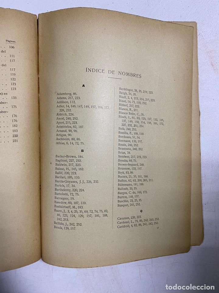 Libros antiguos: LOS ESTADOS INTERSEXUALES EN LA ESPECIE HUMANA. G. MARAÑON. JAVIER MORATA EDITOR. MADRID,1929. - Foto 8 - 288598953