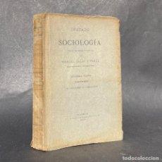 Libros antiguos: 1894 - TRATADO DE SOCIOLOGIA - DEL HETAIRISMO AL PATRIARCADO - MANUEL SELES. Lote 289222433