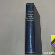 Libros antiguos: INGENIEROS, JOSÉ: SOCIOLOGÍA ARGENTÍNA. Lote 293346348