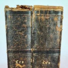 Libros antiguos: LES ANGLAIS. CATEDRATICOS LITERARIOS INGLESES. 2 VOL. L. CURMER. 1840.. Lote 293591948