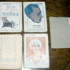 Libros antiguos: 5 OBRAS DE EL TEATRO MODERNO AÑOS 20. Lote 13816497