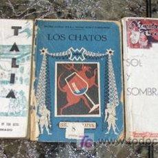 Libros antiguos: 3 OBRAS TEATRO - QUINTERO Y GUILLEN - MUÑOZ SECA Y PEREZ FERNANDEZ - ADOLFO TORRADO. Lote 12732454