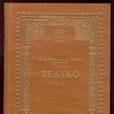 Libros antiguos: TEATRO. CLASICOS ESPAÑOLES: CALDERON DE LA BARCA. OBRAS: LA VIDA ES SUEÑO – MAÑANAS DE ABRIL Y MAYO. Lote 27599755