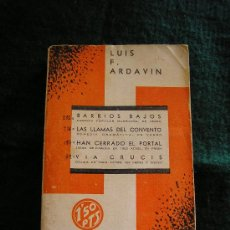 Libros antiguos: TEATRO DE LUIS ARDAVIN.. Lote 27192800