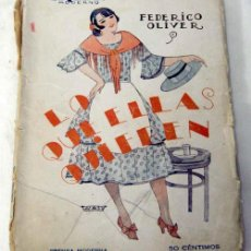 Libros antiguos: TEATRO MODERNO Nº 68 LO QUE ELLAS QUIEREN DE FEDERICO OLIVIER ED PRENSA MODERNA 1926. Lote 6443423