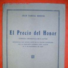 Libros antiguos: LIBRO ANTIGUO DE TEATRO DE 1929. Lote 2264842