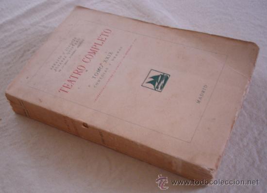Libros antiguos: Teatro completo, Tomo XXIX, anexo - Foto 2 - 23735964