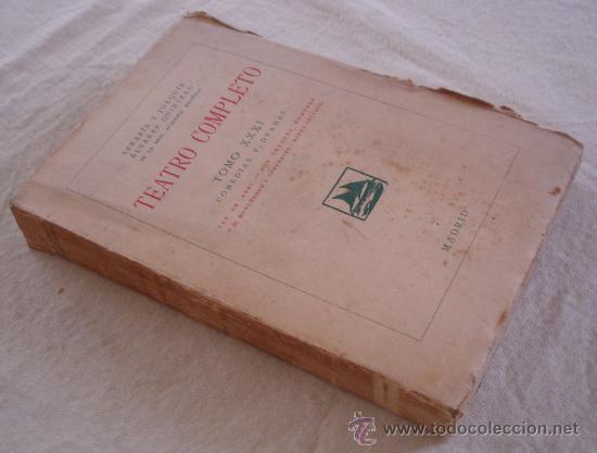 Libros antiguos: Teatro completo, Tomo XXXI, anexo - Foto 2 - 23735963