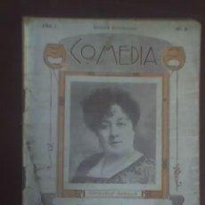 Libros antiguos: EL NIDO AJENO, DE JACINTO BENAVENTE - COLECCIÓN COMEDIA - AÑO 1 Nº 8 - ESPAÑA - 1922 - RARO. Lote 22729879