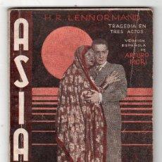 Libros antiguos: LA FARSA AÑO VII. MADRID 8 DE ABRIL DE 1933. Nº 291. ASIA POR ARTURO MORI. Lote 17072191