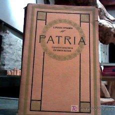 Libros antiguos: PATRIA (J. POUS I PAGES, 1914). Lote 18173391