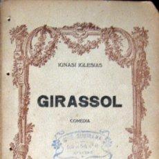 Alte Bücher - IGNASI IGLESIAS. GIRASSOL. COMEDIA EN TRES ACTES - 26001775