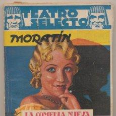Libros antiguos: TEATRO SELECTO.MORATÍN. ESPECIAL CLÁSICO 2. LA COMEDIA NUEVA,EL SÍ DE LAS NIÑAS...EDITORIAL CISNE.. Lote 19359226