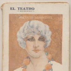 Libros antiguos: ROSAS DE OTOÑO. LA HONRA DE LOS HOMBRES. JACINTO BENAVENTE. EL TEATRO MODERNO.. Lote 19709016