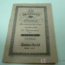 Libros antiguos: OPERA-TEATRO-IL BARBIERE DI SIVIGLIA-GIUSEPPE ROSSINI. Lote 20644245