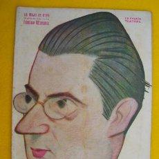 Libros antiguos: LA MAJA DE GOYA. VILLAESPESA FRANCISCO. 1923. LA NOVELA TEATRAL AÑO VIII Nº 354. Lote 20969101
