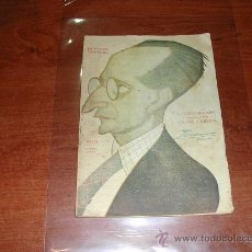 Libros antiguos: TEATRO: EL CORTO DE GENIO (PARADAS Y JIMENEZ) SAINETE EN UN ACTO, LA NOVELA TEATRAL, 27/08/1922. Lote 26713821