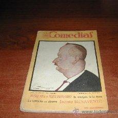 Libros antiguos: MUÑOZ SECA Y PEREZ FERNANDEZ: LA CABALGATA DE LOS REYES. JACINTO BENAVENTE: LA SEÑORITA SE ABURRE. . Lote 24011183