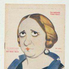 Libros antiguos: LA NOVELA TEATRAL Nº 397. LA ALSACIANA POR JOSÉ RAMOS MARTÍN. AÑO 1924.. Lote 22055607