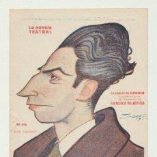 Libros antiguos: LA NOVELA TEATRAL Nº 382. LA CENA DE LOS CARDENALES. AÑO 1924.. Lote 22080670