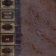 Libros antiguos: LOPE DE VEGA – THÉATRE – AÑO 1850. Lote 26674354