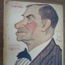 Libros antiguos: LA TIERRA DEL SOL. PERRÍN, GUILLERMO Y DE PALACIOS, MIGUEL. 1919 LA NOVELA TEATRAL 150. Lote 22439203