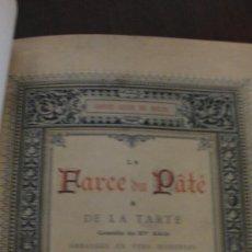Libros antiguos: PRECIOSO LIBRO DE TEATRO EN FRANCÉS . Lote 27489325
