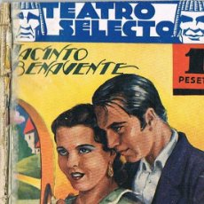 Libros antiguos: TEATRO SELECTO, SEÑORA AMA, JACINTO BENAVENTE. Lote 23451996