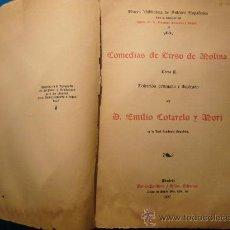 Libros antiguos: TIRSO DE MOLINA: - COMEDIAS - (1907) (EDICION DE EMILIO COTARELO) (TOMO II).. Lote 26127718