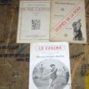 Libros antiguos: UN TÍO CASTIZO 1920, DESPUÉS DE LA BODA 1903 Y LA CONCHA 2ª ED 1916. RAMÓN LÓPEZ MONTENEGRO. . Lote 24429330