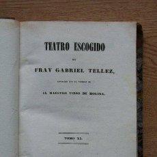 Libros antiguos: TEATRO ESCOGIDO. TOMO XI. DEL ENEMIGO EL PRIMER CONSEJO. AMAR POR ARTE MAYOR.. Lote 25102000