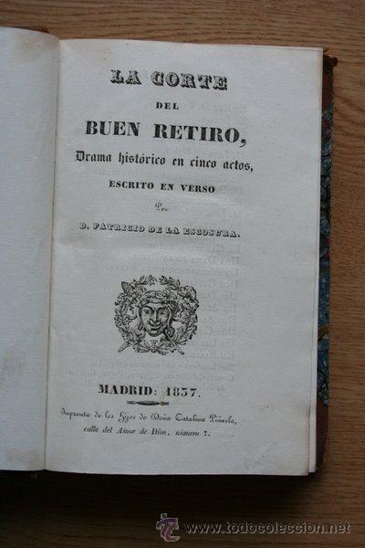 LA CORTE DEL BUEN RETIRO. BÁRBARA BLOMBERG. DON JAIME EL CONQUISTADOR. LA AURORA DE COLÓN. (Libros antiguos (hasta 1936), raros y curiosos - Literatura - Teatro)