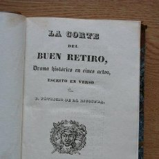Libros antiguos: LA CORTE DEL BUEN RETIRO. BÁRBARA BLOMBERG. DON JAIME EL CONQUISTADOR. LA AURORA DE COLÓN.. Lote 25102103
