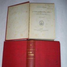 Libros antiguos: CALDERÓN DE LA BARCA TEATRO ESCOGIDO. TOMO PRIMERO Y TOMO II. DOS TOMOS 1868 RM50237-V. Lote 26852862