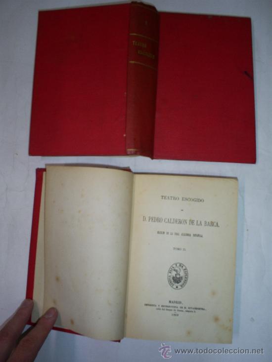 Libros antiguos: CALDERÓN DE LA BARCA Teatro Escogido. Tomo Primero y Tomo II. DOS TOMOS 1868 RM50237-V - Foto 2 - 26852862