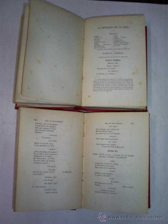 Libros antiguos: CALDERÓN DE LA BARCA Teatro Escogido. Tomo Primero y Tomo II. DOS TOMOS 1868 RM50237-V - Foto 3 - 26852862