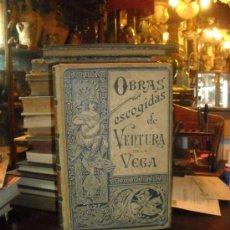 Libros antiguos: OBRAS ESCOGIDAS DE VENTURA DE LA VEGA. Lote 25546771