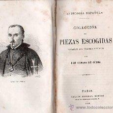 Libros antiguos: COLECCION DE PIEZAS ESCOGIDAS DE TEATRO. PARIS 1860 - CARLOS DE OCHOA. Lote 25921292