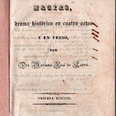 Libros antiguos: OPERA ITALIANA 1871 - MACIA. Lote 25966401